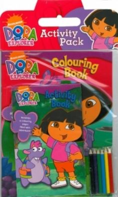 Dora The Explorer Activity Pack,