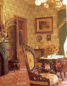 Really nice and authentic Victorian Parlor
