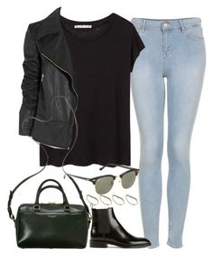 Untitled#2300 by fashionnfacts on Polyvore featuring polyvore, fashion, style, Acne Studios, Gucci, Topshop, Yves Saint Laurent, ASOS, Ray-Ban and clothing