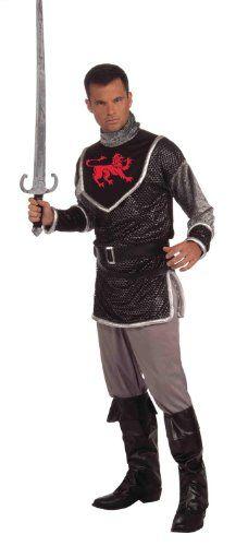 Standard silver Fun World Unisex-Adults Knight Costume Sword