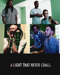 A Light That Never Comes - Linkin Park and Steve Aoki. i am dying waiting for september 12th.
