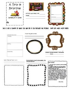 http://www.teacherspayteachers.com/Product/Magical-Memories-End-of-Year-Memory-Book-for-Any-Grade-131527