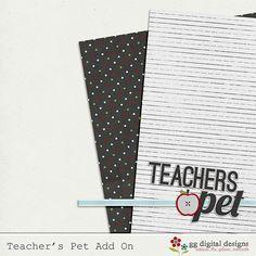 Teacher's Pet tiny kit freebie from GG Digital Designs