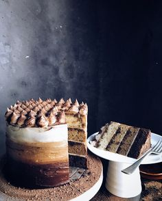 Tiramisu Ombré Cake – T h e C o o k b o o k L i f e