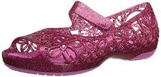 crocs Isabella Glitter PS Jelly Flat (Toddler/Little Kid), Fuchsia/Candy Pink, 6 M US Toddler crocs http://www.amazon.com/dp/B01011ZY6C/ref=cm_sw_r_pi_dp_rytdxb1CFVCNT