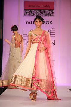 Lakmé Fashion Week – Anushree Reddy LFW SR 2013