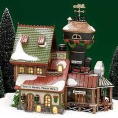 Department 56 North Pole Toots Model Train Mfg 25th Anniversary ** See this great product.