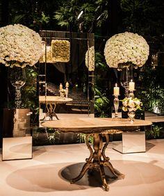 Uma linda decoração de casamento que transformou a Casa Fasano num jardim de hortênsias!