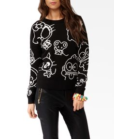 Sanrio Characters Sweater | FOREVER21 - WANT!!!!!!!!!