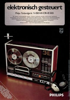 PHILIPS N 4510 Publicity from 1974 when I bought this machine new