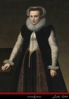 The Original 1580 Elizabeth Bathory Portrait - CLICK TO ENLARGE