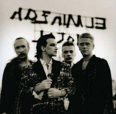 U2start.com | Photos | Achtung Baby Promo Poster Set