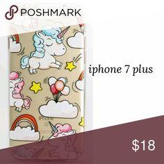 Iphone 7 plus soft unicorn case New phone case! Accessories Phone Cases