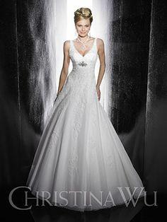 "Christina Wu ""In Stock"" Wedding Dress - Style 15469 Wedding Dress Styles, Bridal Dresses, Wedding Gowns, Bridesmaid Dresses, 20s Wedding, Bridesmaids, Cathedral Wedding Dress, Cathedral Train, Christina Wu"