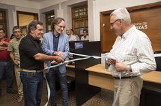 Así Somos: Giordano inauguró una delegación de Finanzas en la...