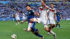 Alemania 1 Argentina 0 (Final de la Copa del Mundo Brasil 2014,Estadio Maracaná,Río de Janeiro,13/07/2014)