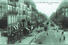 #photo Rue de Flandre (1) vers 1900 #PEAV #Paris19 @Menilmuche @Karine_Gautreau @XavierGolczyk