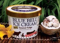 Blue Bell Coconut Fudge - got it this weekend.  YUM!
