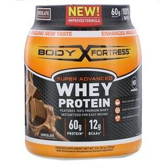 Shop the best Body Fortress Super Advanced Whey Protein - Chocolate 2 lbs Pwdr products at Swanson Health Products. Trusted since we offer trusted quality and great value on Body Fortress Super Advanced Whey Protein - Chocolate 2 lbs Pwdr products. Protein Blend, Whey Protein Powder, Whey Protein Isolate, Peanut Butter Protein, Soy Protein, Protein Cookies, Body Fortress Whey Protein, Post Workout Protein, Creatine Monohydrate