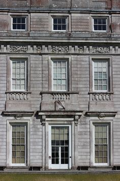 Detail of the west front at Petworth House by Daniel Marot (completed 1702) |