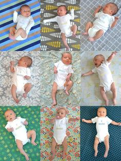 Newborn Picture project- weekly pics of our cutie patootie! To all you creative people out there- what are some fun ideas of what to do with our 52 pictures when we are done?
