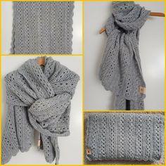 Crochet Cardigan, Crochet Scarves, Knit Crochet, Crochet Hats, Kerchief, Lion Brand, Chrochet, Loom Knitting, Mittens