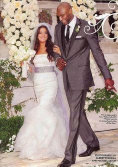 A favourite wedding of mine Khloe and Lamar Odom