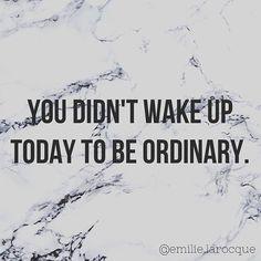 Be amazing 😏😘
