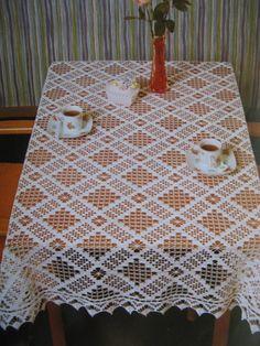 Crochet Bedspread Pattern, Crochet Table Runner Pattern, Crochet Baby Dress Pattern, Crochet Mat, Crochet Tablecloth, Crochet Diagram, Crochet Stitches Patterns, Doily Patterns, Thread Crochet