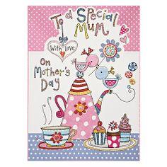 Buy Rachel Ellen Designs Jelly Moulds Mother's Day Card Online at johnlewis.com