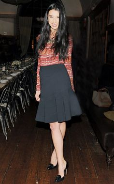 Lily Kwong in Altuzarra  at the Vogue and Jenna Lyons Toast the 2011 CFDA/Vogue Fashion Fund Recipients, New York