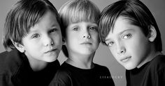 105mm macro lens - too much for one heart - Lisa Lucky Photography.. Three Brothers Love... Kimmeasmile :)