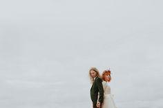 The Colourful, Eco-Friendly, Woodland Wedding of Beth   Zac…