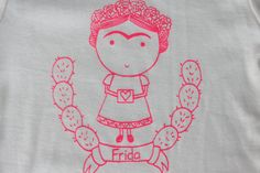 Organic Frida Love Bodysuit by ThirdandOak on Etsy