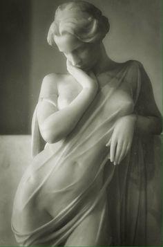 La Grande Nevrose by Jacques Loysel, white marble, circa 1896.