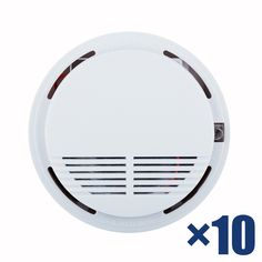 Hot Selling Wireless Smoke Detector Fire Alarm Sensor for Indoor Home Safety Garden Security 10pcs