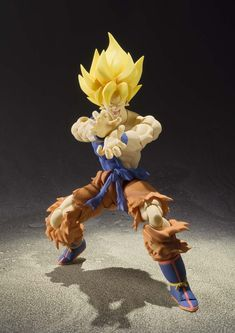 Figurine 'Dragon Ball Z' - Super Saiyan Goku Awakening - Jaune