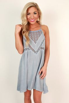 Trip to the Caribbean Shift Dress