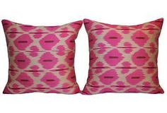 One Kings Lane is an online marketplace that brings shoppers exceptional value on a spectacular collection of top-brand, designer, and vintage items for the home. Vintage Decor, Vintage Items, Ikat Pillows, Vintage Vanity, One Kings Lane, Blush Pink, House Styles, Creative, Collection