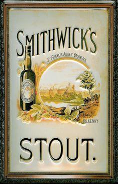 Image Detail for - Smithwicks Stout Home Bar Vintage Metal Pub Sign > Pub Memorabilia ...
