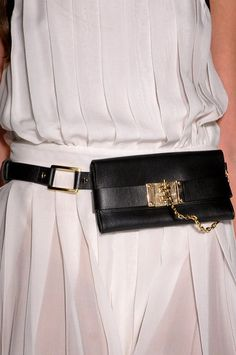 Rachel Zoe Spring 2013: New York Fashion Week Spring 2013 now this is a moonbag!, lol
