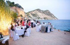 Anna and Andy's Ibiza beach club wedding celebration