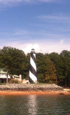 Lighthouse on Smith Mountain Lake VA