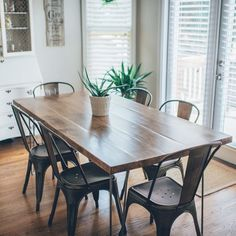 Hairpin Leg Kitchen Table Diy