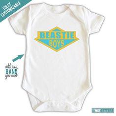 Beastie Boys Rappers Hip Hop Stars Baby Onesie by lilWETSETTERS, $16.25