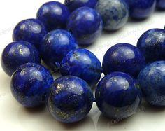 Lapis Beads Half Strand Lapis Lazuli 8mm Beads от GenuineBeadShop