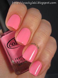 Color Club Flamingo    #nail polish #lacquer