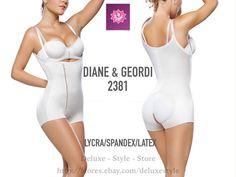 Diane 2829 Butt Lifter Capri Shapewear for Women Fajas Colombianas Latex FAJATE