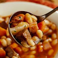 Country Bean Stew {slow cooker}