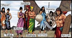 Diwata Moro Gods: Gods from many cultures drew as Comic book Superheroes